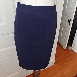 NEW navy Sloan pencil skirt Banana Republic